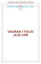 1 Folio Jilid Lem