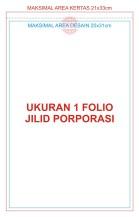 1 Folio Jilid Porporasi