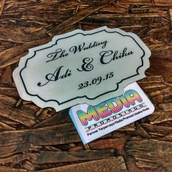 Plat Wedding / Mahar