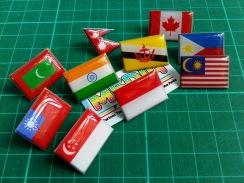 Pin Bendera Printing