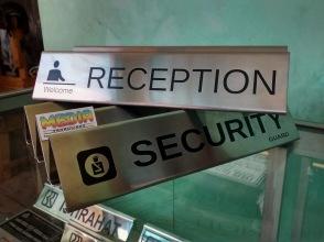 Reception dan Security
