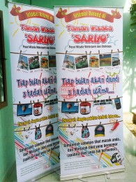 Roll Up Banner Sariyo