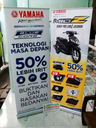 Roll Up Banner Yamaha