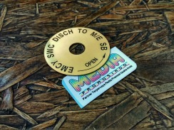 Ship Machine Valve Label Plate