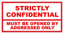 Stempel Strictly Confidential
