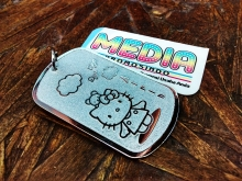 Dog Tag Hello Kitty