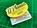 Name Tag D'Planner