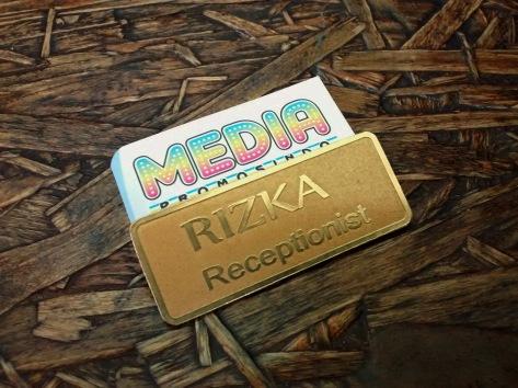 Name Tag Rizka Kuningan