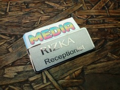 Name Tag Rizka Stainless