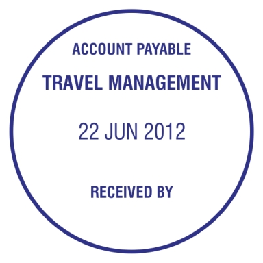 Stempel Trodat 46145 - Travel Management