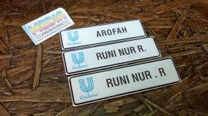 Name Tag Unilever