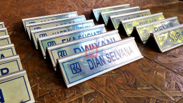 Name Desk BRI rel Stainless 12
