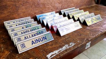 Name Desk BRI rel Stainless 15